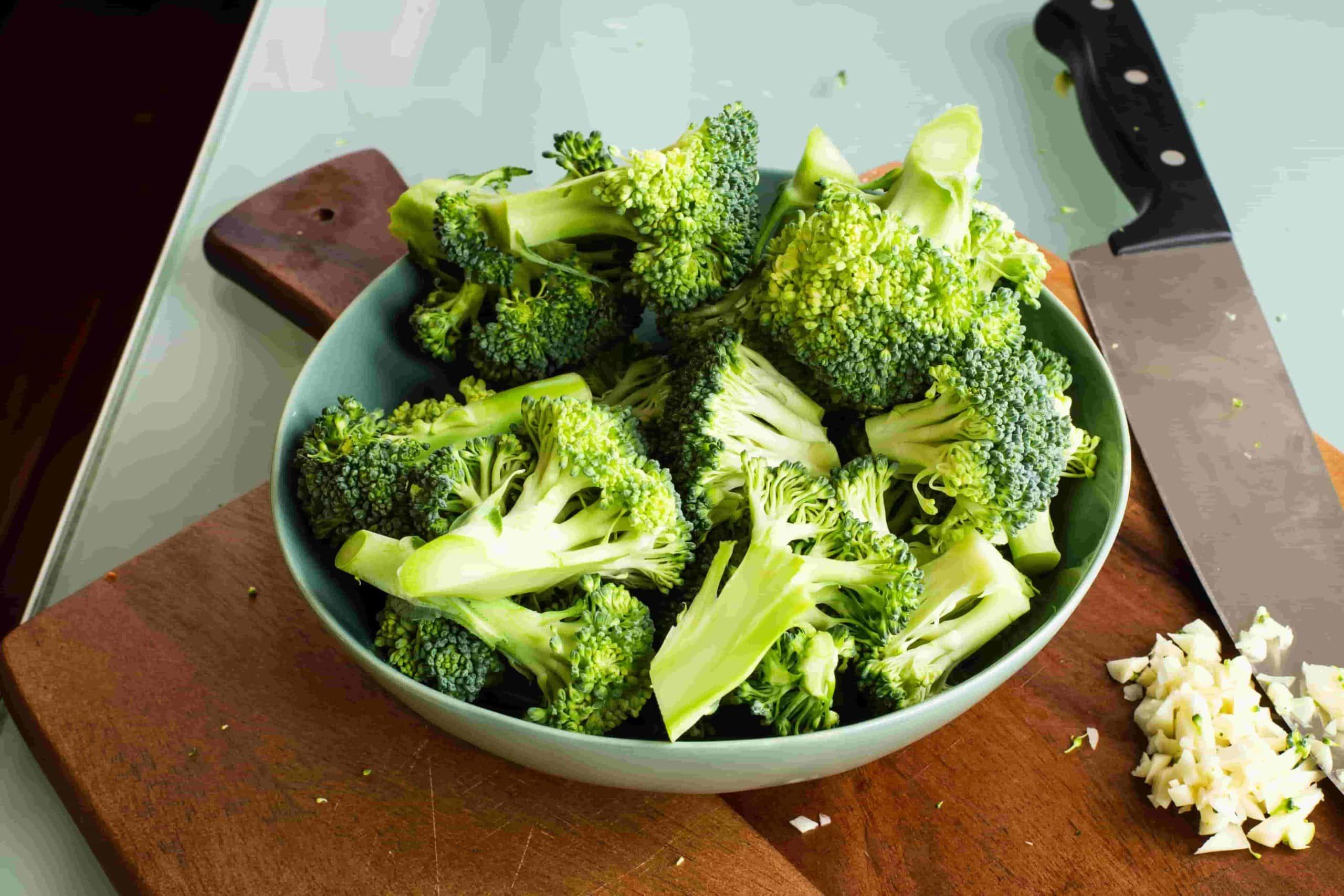 Der gesunde Pflanzenstoff Sulforaphan steckt in Brokkoli